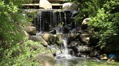Prospect Park Binnen Falls Close Stock Footage