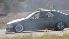 Drifting car toyota altezza Stock Footage