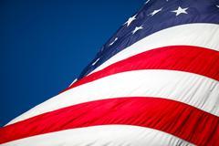 US Flag Background Stock Photos