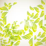 Abstract background: wing Stock Illustration
