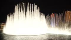 Las Vegas Bellagio Water Fountain - stock footage