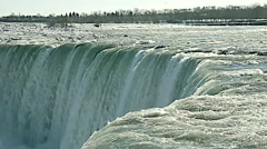 Niagara Falls TheFalls winter 06svv Stock Footage