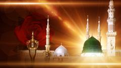 Madina, Hazrat Muhammad Stock Footage
