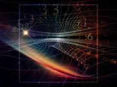 Acceleration of Geometry Stock Illustration