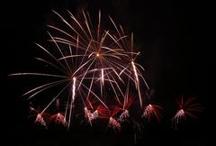 Fireworks, pyrotechnics Stock Photos