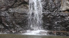 Video 1920x1080 - Beautiful tropical waterfall, Koh Kood Island, Thailand. Stock Footage