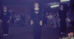 70s Dance Performance Crazy 16mm Stock Footage