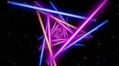 Neon Space 1 - stock footage