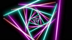 Neon Lights 3-2 - stock footage