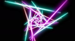 Neon Lights 4-2 - stock footage