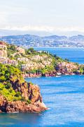 Theoule sur Mer, French Riviera Stock Photos