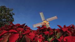 Christmas star Stock Footage