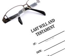 Last Will and Testament Stock Illustration