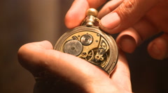 Antique Pocket Watch - HD 1080p Stock Footage