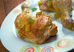 Ayam Goreng Kuning Stock Photos