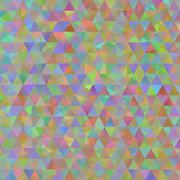Colorful pattern with chaotic triangles Stock Illustration
