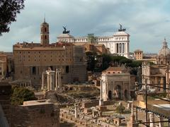 The Roman Forum Stock Photos