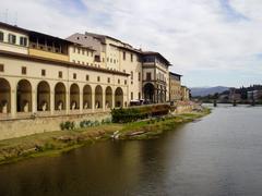 The Arno River - stock photo
