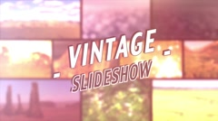 Vintage Slideshow - After Effects Template Stock After Effects