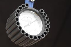 Manometer RAYS Racing Air Control Gauge Stock Photos