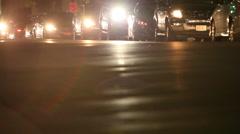 headlights - stock footage
