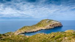 Cabrera island - stock photo