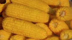 Video 1920x1080 - Local Vendo Cooks Sweet Corn Over Steam Stock Footage