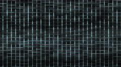 4k metal mesh square grid network background,Big data&cloud storage,prison cage - stock footage