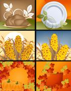 Stock Illustration of Thanksgiving Concept