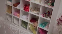 Handmade decorations Stock Footage