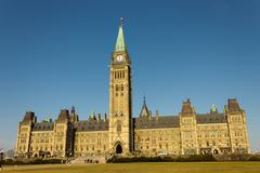 Parliament of Canada in Ottawa, Canada - stock photo