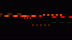 4k Speed TV Static signal noise,spectrum chaos confusion pattern art texture. Stock Footage