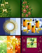 Christmas Designs - stock illustration