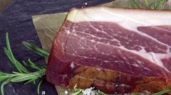Ham (not loopable) Stock Footage