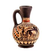 Ancient amphora Stock Photos