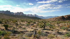 Time lapse of Nevada desert Stock Footage