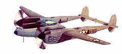 P-38 886 Stock Illustration