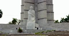 4K José Martí Memorial, Revolution Square, Plaza de la Revolución, Havana Cuba Stock Footage