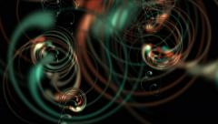 4k Abstract spiral curl curve,stripes swirl lines,cyclones wind tunnel neon. Stock Footage