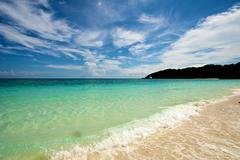 Beach in Boracay - stock photo
