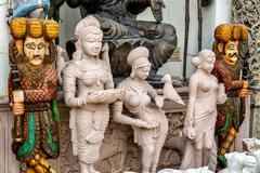 Figures  Hinduism Stock Photos