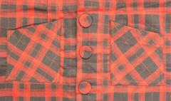 Close-up tartan pattern  background Stock Photos