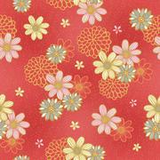 Stock Illustration of elegant floral seamless pattern
