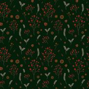 Stock Illustration of adorable floral seamless pattern