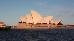 SYDNEY HARBOR OPERA HOUSE Stock Footage