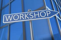 Workshop - stock illustration