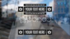 70 Shiny Blurry Lower Thirds Stock After Effects