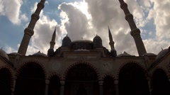 Selimiye Mosque in Edirne, Turkey Stock Footage