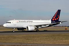 Brussels Airlines Stock Photos