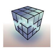 rubix cube - stock photo